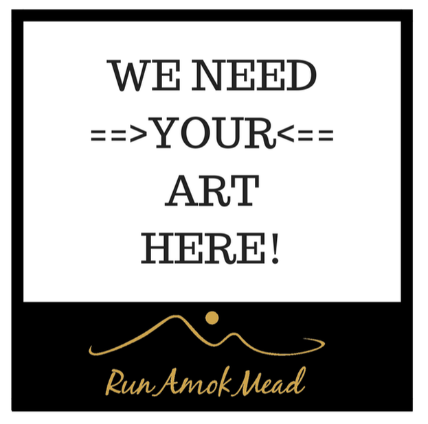 Run Amok Mead's Art Label Contest image
